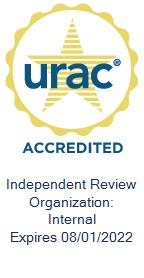 URAC accredited Logo